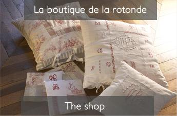 La rotonde la boutique du linge ancien broderie dentelle achat vente shop old linen - La boutique de noemie ...